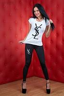 Набор Лосины + Футболка - Бренд D&G, YSL,Chanel