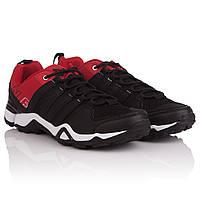 Легкие кроссовки мужские N.E.W.S. (Классическое сочетание черного и красного цветов, легкие, удобные, стильные