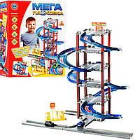 Детский паркинг «Мега парковка» (2 машинки + АЗС) - 922-4
