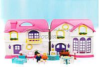 Домик для кукол мебель 22528-2, жильцы , музыка, свет