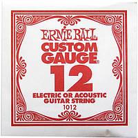 Струна Ernie Ball 1012 Plain Steel .012 (акустика\электро)