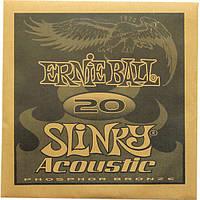 Струна Ernie Ball 1820 Earthwood Phosphor Bronze .020 (акустика)