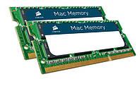 Память для ноутбука Apple Macbook pro Corsair 16GB Kit 2x8GB DDR3 1333 MHz (PC3-10600) 204p SODIMM