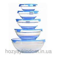 Набор стеклянных салатников