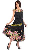 Длинный женский сарафан р-р 48-50, производство Индия, cotton 100%