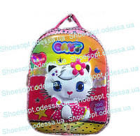 Рюкзак светящийся 3D Kitty ортопедический + сумка пр-во Турция