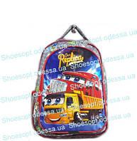 Рюкзак школьный Тачки с ортопедической спинкой + сумка Турция