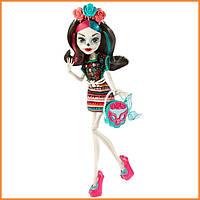 Кукла Monster High Скелита Калаверас (Skelita Calaveras) из серии I love Accessories Монстр Хай