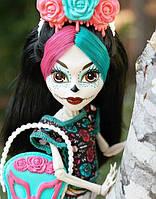 Кукла Monster High Скелита Калаверас (Skelita Calaveras) Я люблю аксессуары Монстер Хай Школа монстров