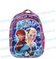 Рюкзак школьный светящийся Холодное сердце Frozen ортопедический + сумка Турция