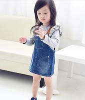 Детский джинсовый сарафан на девочку