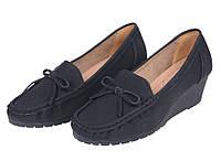 Женские удобные туфли на небольшой платформе