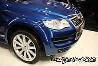 Комплект накладок на арки и пороги для моделей VW Touareg