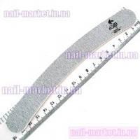 Двусторонняя пилочка, пилка 100/180 для наращивания ногтей бумеранг Lilly