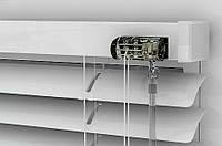 Жалюзи алюминиевые белые, ширина 25мм