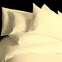 Двуспальное постельное белье 200х220 LOTUS  ваниль