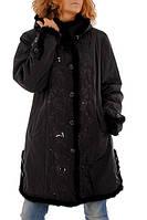 Женское пальто Леди Шарм с норкой 1211069