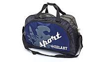Сумка спортивная DUFFLE BAG Zelart (синий,черный,темно синий)