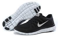 Мужские беговые кроссовки Nike Free Run 5.0 (найк фри ран) черные