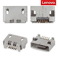 Коннектор зарядки для Lenovo K900, оригинал