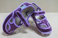 Тапочки в садик на девочку, мальчик, текстильная обувь Vitaliya Виталия Украина р. 23, 25,5, 27