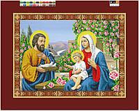 """Схема для вышивки бисером на подрамнике (холст) """"Святое семейство"""""""