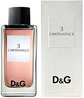 Dolce&Gabbana L`Imperatrice №3  EDT 100 ml Туалетная вода (оригинал подлинник  Великобритания)