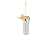 Ершик настенный KUGU Bavaria 305G (латунь, золото, стекло)(Бесплатная доставка Новой почтой)