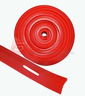 Эспандер-лента с прорезями красный