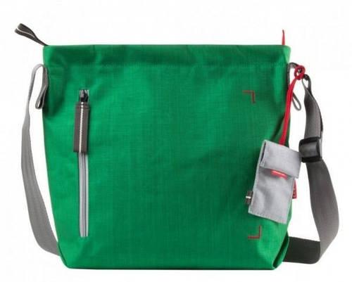 Компактная городская сумка 7 л. Doozie Shoulder S Crumpler DZS-S-006 зеленый