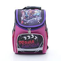 Школьный рюкзак с ортопедической спинкой. Рюкзак для девочек. Отличное качество. Интернет магазин. Код: КДН400