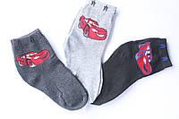 """Детские носки для мальчика """"Тачки"""" 4-6 лет"""