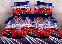 """Детский комплект постельного белья """"Ferrari""""."""