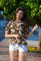 Легкая летняя блуза Аннет для девушек