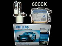 Xenon Филипс Н4 (6000кельвинов)