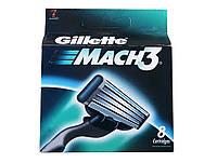 Кассеты сменные Gillette Mach3 (8 шт/уп)