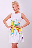 Женское платье на лето из микродайвинга