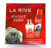Женский подарочный набор SWEET ROSE  (Туалетная вода/дезодорант)