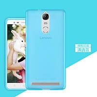 TPU чехол для Lenovo K5 Note голубой