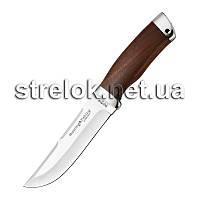 Нож охотничий NO 2254 W (красн. дерево)