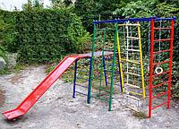 """Комплекс """"Веселка"""" спортивно-игровой для малышей (в комплекте навесное оборудование)"""