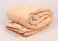 Двуспальное одеяло микрофибра/шерсть 006