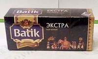 Чай Батик Экстра 25*2г и 100*2г черн.