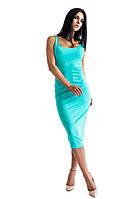 Платье женское Майка бирюзовое , магазин одежды
