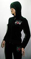 Спортивный костюм женский велюровый SOCCER