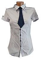 Блузка женская, короткий рукав