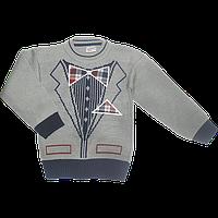 Детский свитер: 70% акрил, 30% шерсть, Китай, ТМ Ромашка, размеры 98, 104, 110