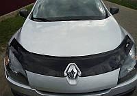 Дефлектор капота (мухобойка) Renault Megane III с 2008 г.в.