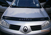 Дефлектор капота (мухобойка) Renault Megane II с 2002-2008 г.в.