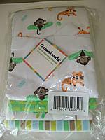 Пеленки фланелевые (4 шт. в наборе) Гаранималс, США